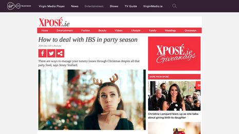 How to deal with IBS in party season