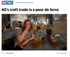 New Zealand's craft trade is a 'pour de force'