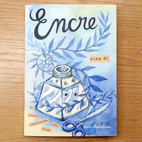 """Encre"" zine 🇫🇷 + stickers"