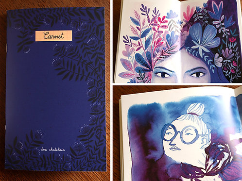 """Carnet"" - Livret imprimé (printed booklet)"