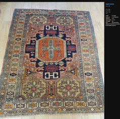 tapis caucase ancien