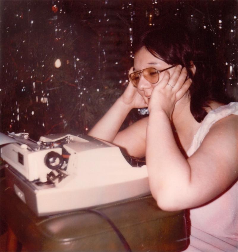 ME & MY FIRST TYPEWRITER