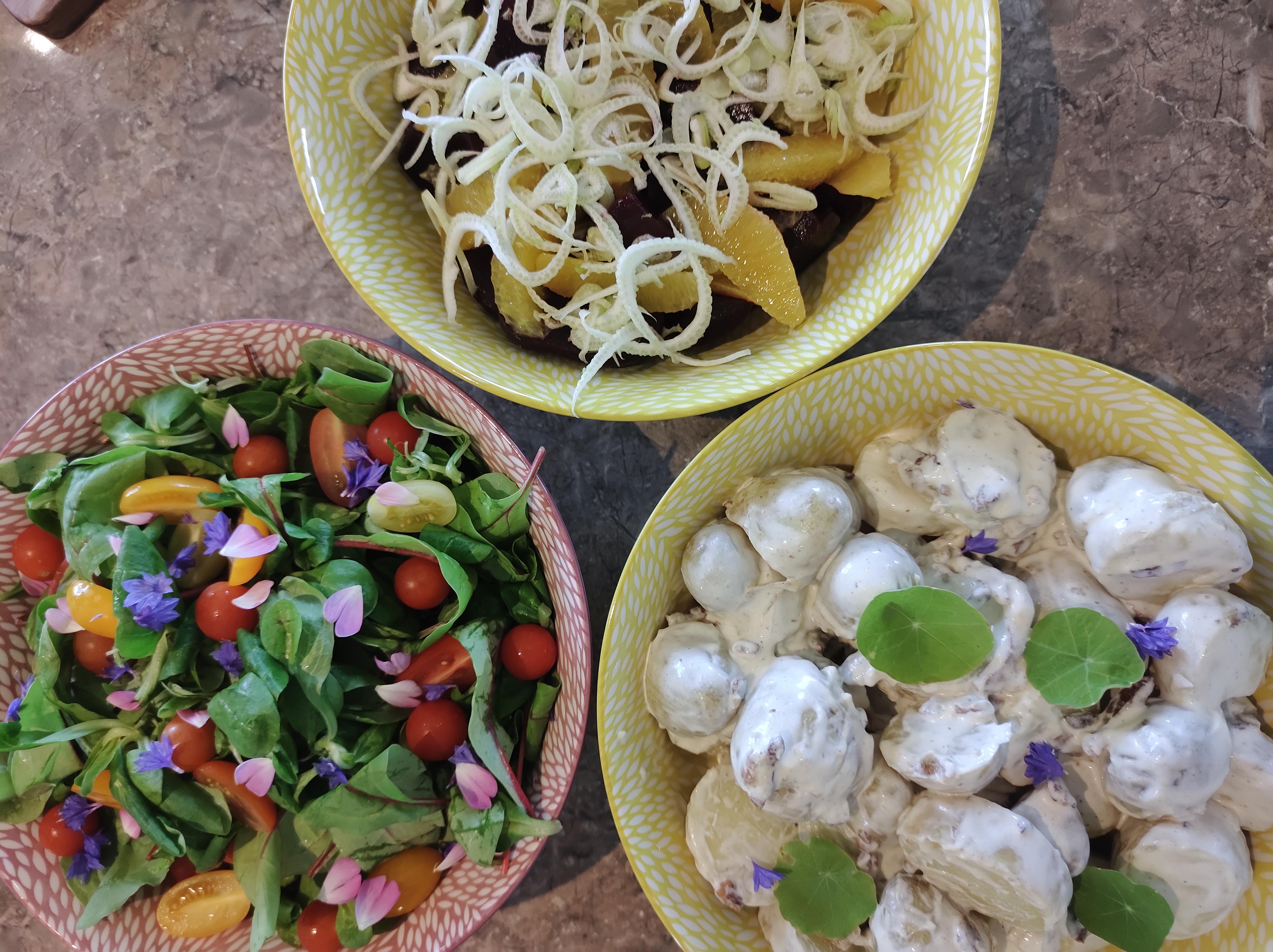 Selection of Salads