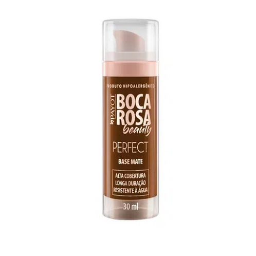 Boca Rosa Base Matte HD 8 Fernanda