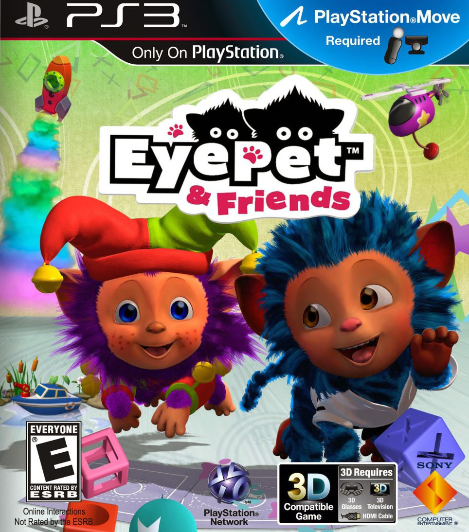 Eye Pet and Friends [PS3]