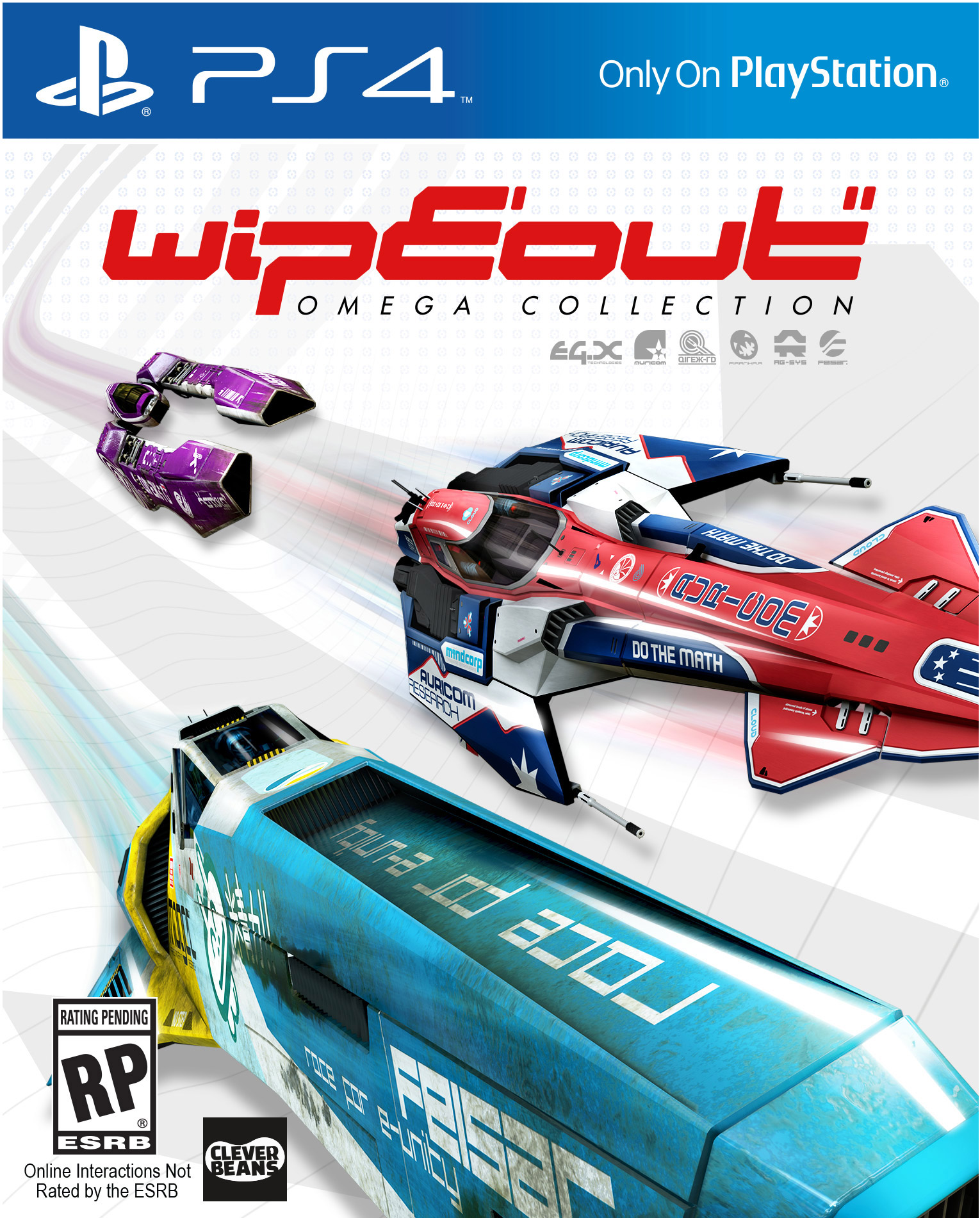 WipEout: Omega Collection [PS4]