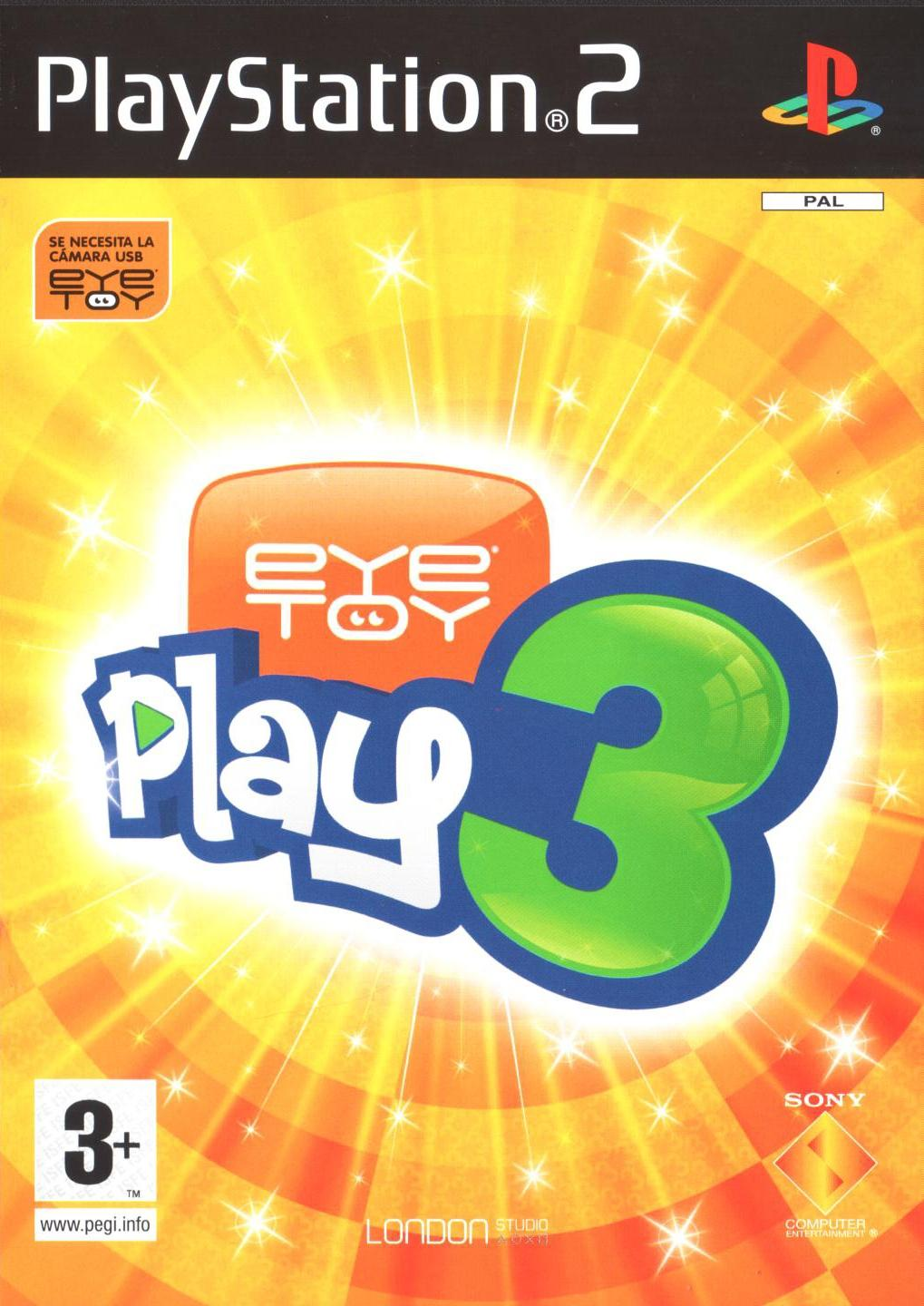 Eye Toy: Play 3 [PS2]