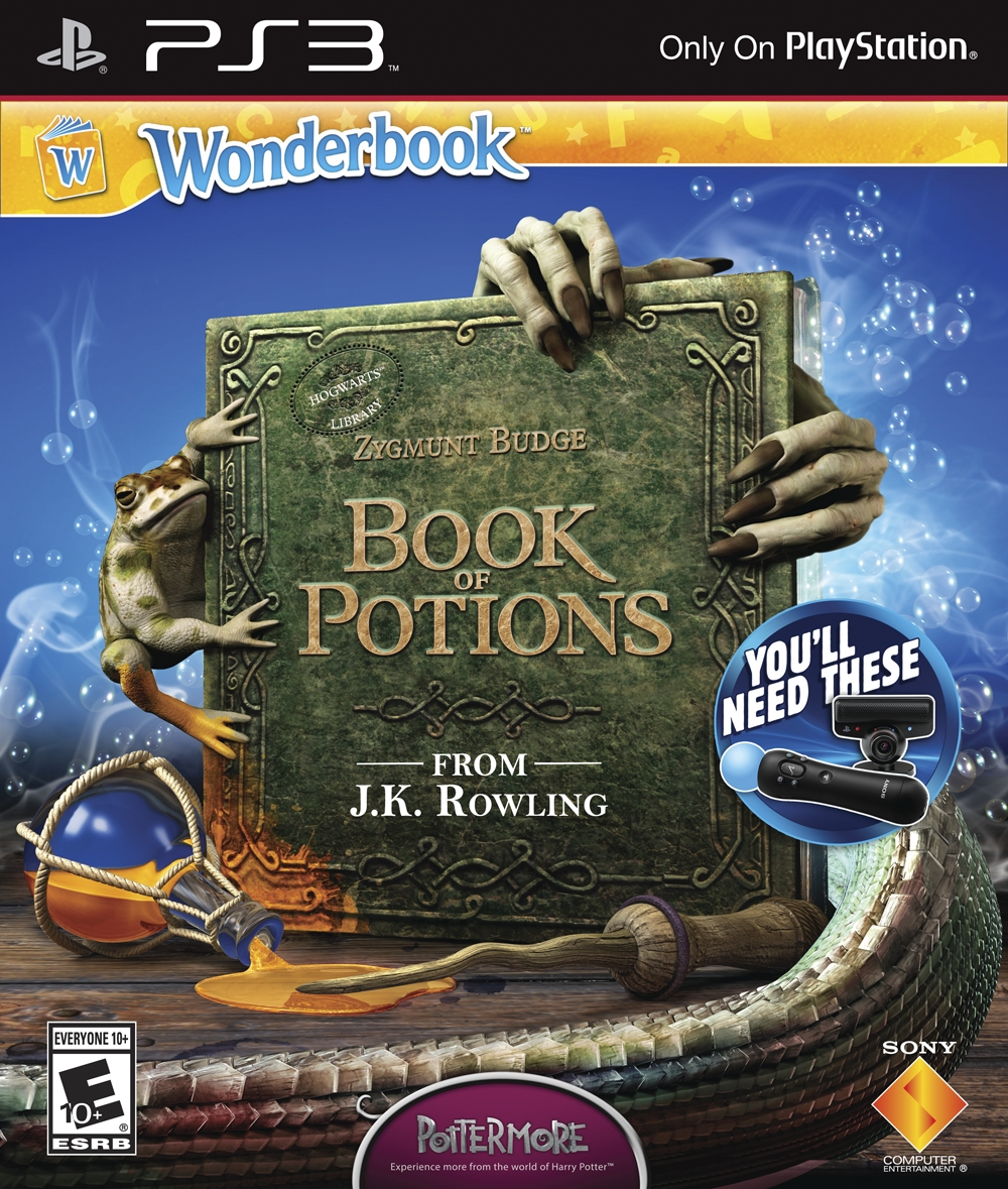 Wonderbook: Book Of Potions [PS3]