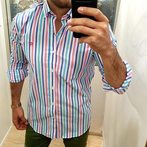 Camisa Multicolor Montepicaza