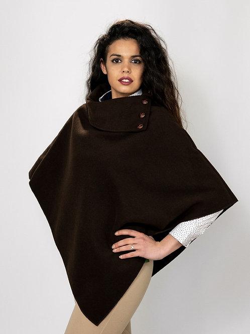 Capa Mujer chocolate