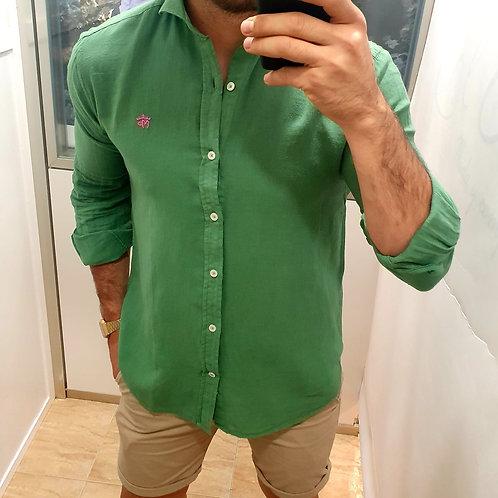 Camisa Kaki  Montepicaza