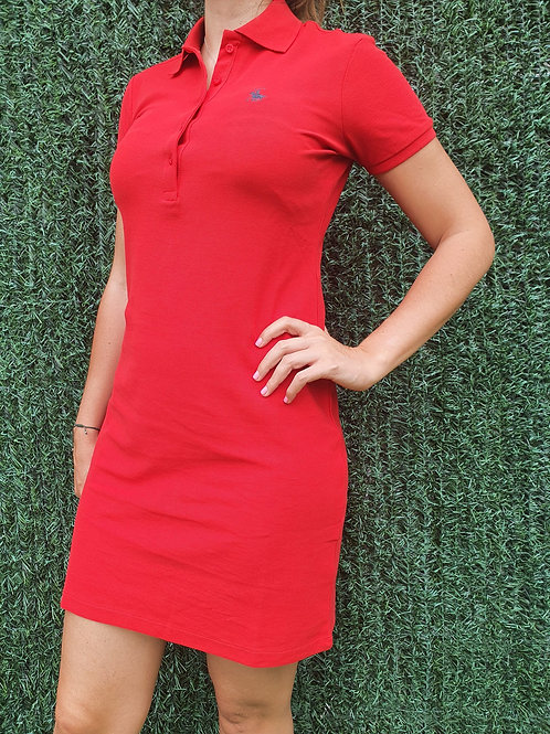 Vestido Polo rojo