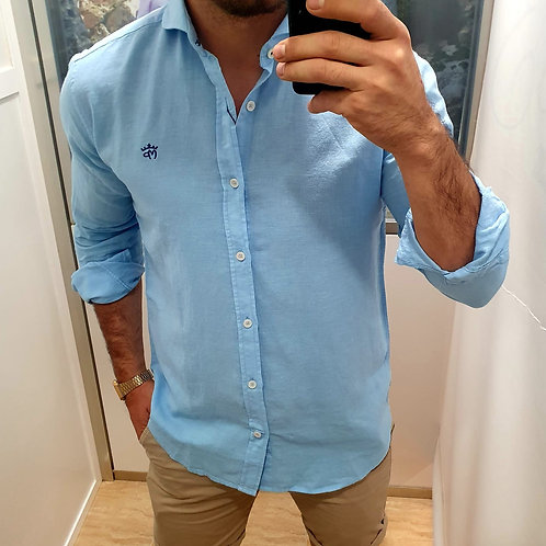 Camisa Celeste Montepicaza