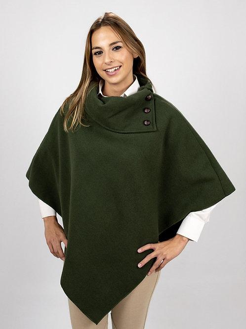 Capa Mujer verde