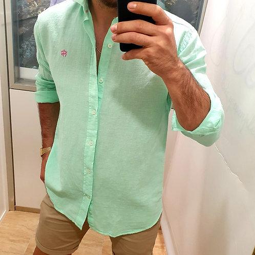Camisa Verde Montepicaza