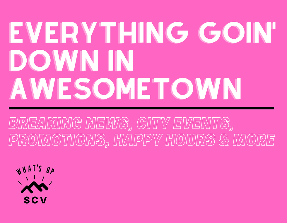 Everything going down in Awesometown : WhatsupSCV