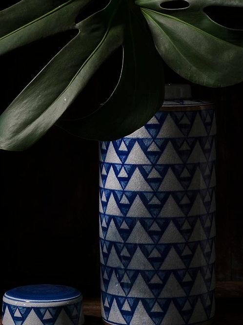 Pot à thé bleu Ganda