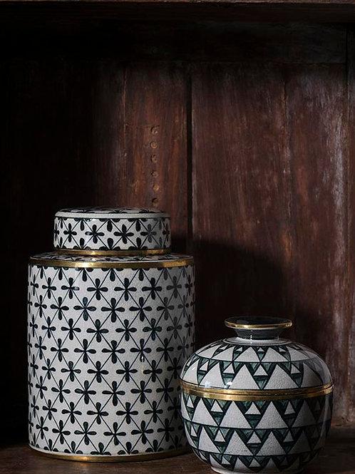 Pot en céramique motif ethnique Agun