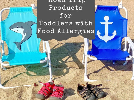 My Favorite Travel Products for Kids with Food Allergies