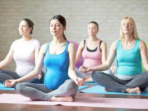 YOGA bédaine - Adapté aux changements que vit le corps lors de la grossesse