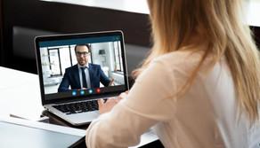 Être performant et percutant lors d'un entretien d'embauche en Visio.