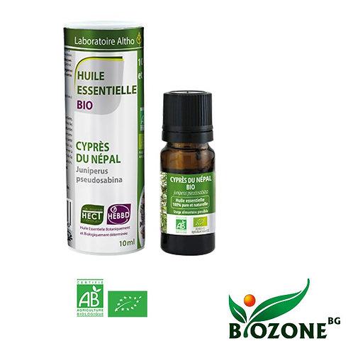 Етерично масло от НЕПАЛСКИ КИПАРИС био - 10 мл