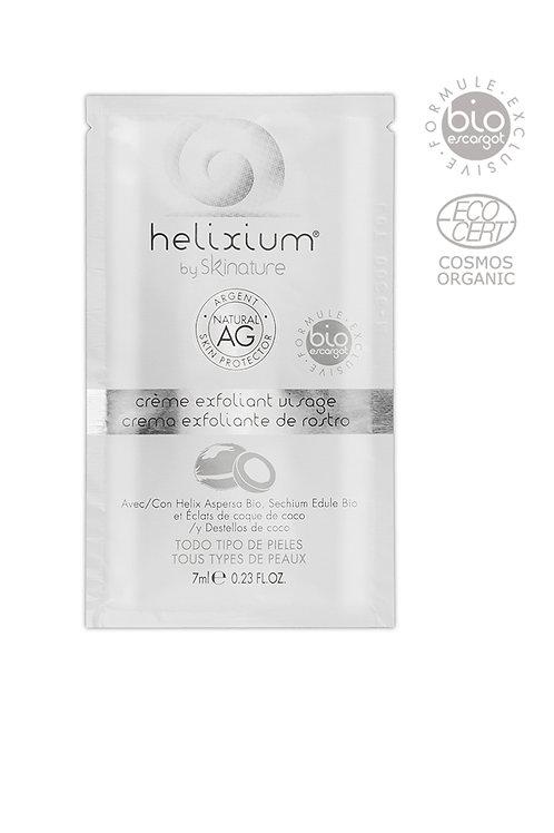 Helixium –  Био ексфолиращ крем за лице с екстракт от охлюви и сребро 7 мл
