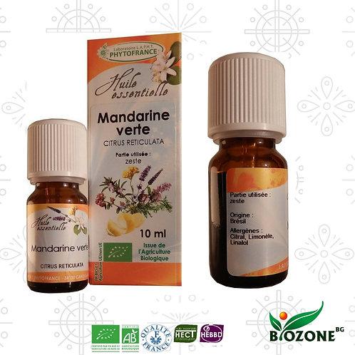 Етерично масло от МАНДАРИНА ЗЕЛЕНА БИО - Citrus reticulata ct blanco - 10 ml