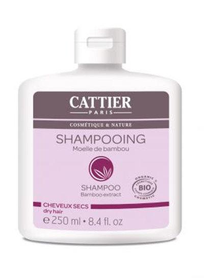 CATTIER - Био шампоан за суха коса с бамбук