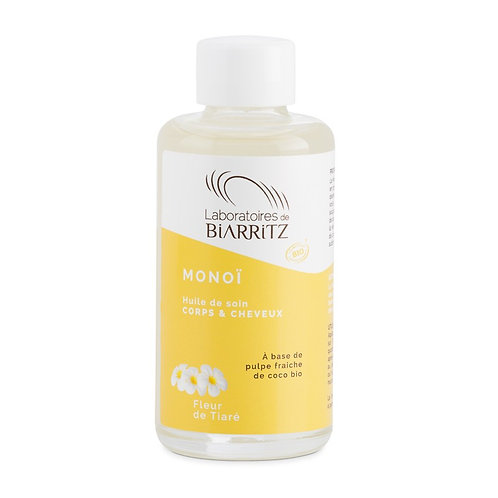 Monoi de Taiti BIO ТИАРЕ - био масло от Моной Laboratoires de Biarritz