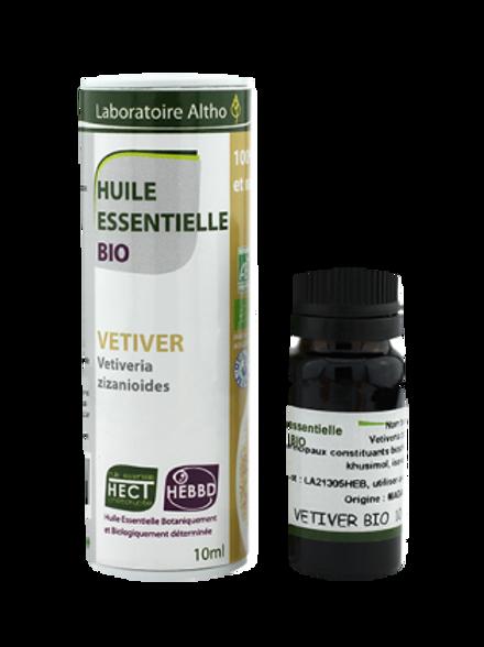 ALTHO - Етерично масло от ВЕТИВЕР БИО - Vetiveria zizanioides - 10 мл