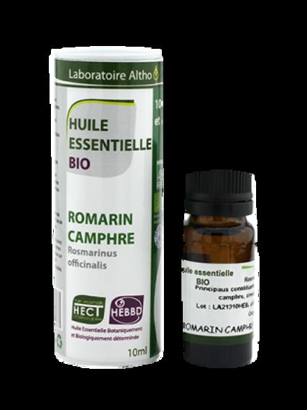 ALTHO - Етерично масло от РОЗМАРИН ct CAMPHRE БИО 10 ml - Rosmarinus off