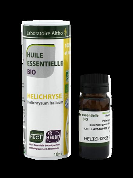 ALTHO – Етерично масло от БЕЗСМЪРТНИЧЕ БИО - Helichrysum italicum