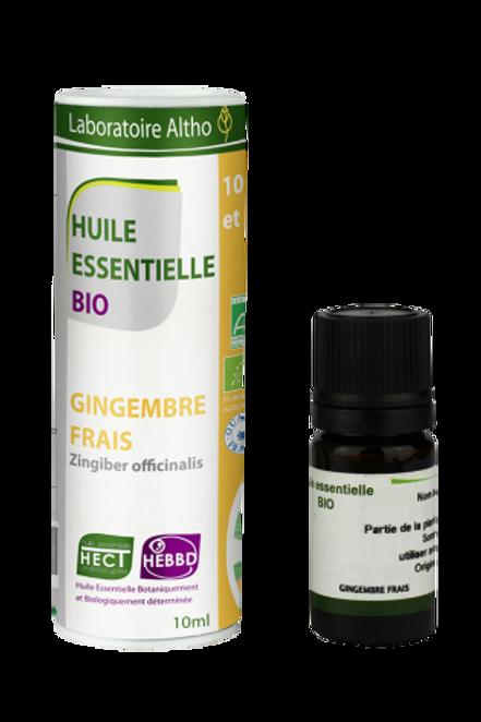 ALTHO - Етерично масло от пресен джинджифил БИО, Zingiber officinalis  - 10 ml