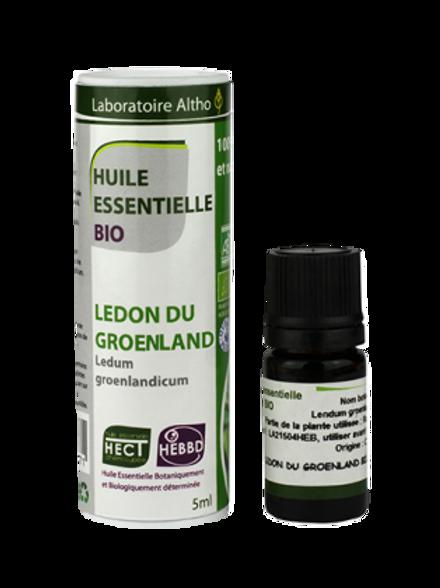 ALTHO - Етерично масло от ГРЕНЛАНДСКИ РОДОДЕНДРОН био - Ledum groenlandicum