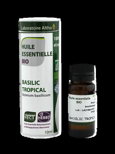 ALTHO – Етерично масло от БОСИЛЕК ТРОПИЧЕСКИ БИО - Ocimum basilicum