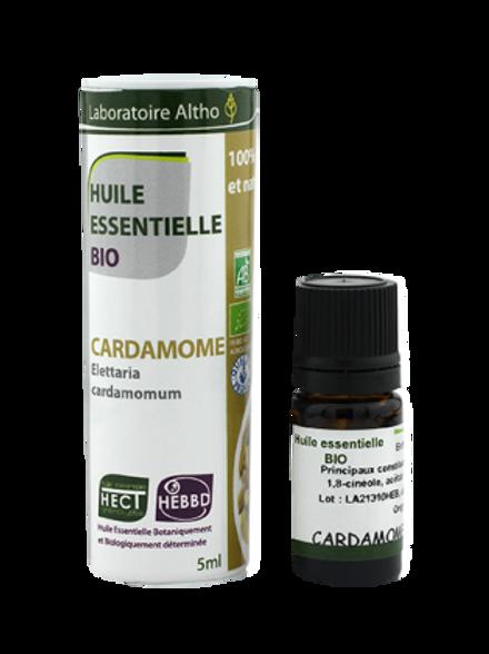 ALTHO - Етерично масло от КАРДАМОМ БИО - Elettaria cardamomum, 5 ml