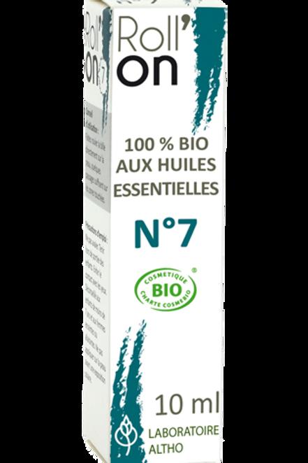 ALTHO - Био РОЛОН № 7 против гъбички и микози с етерични масла - 10 мл