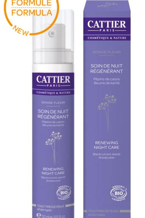 CATTIER - Био регенериращ нощен крем