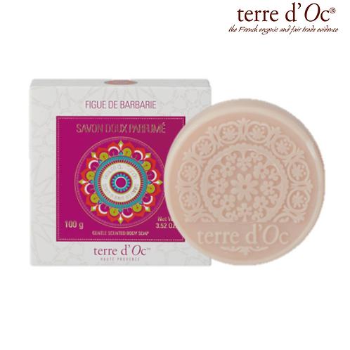 Terre d'Oc -  Био омекотяващ сапун с кактусова смокиня