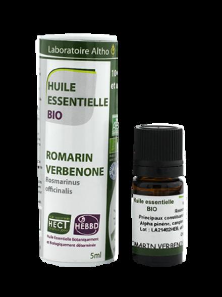 ALTHO - Етерично масло от РОЗМАРИН ct VERBENONE БИО 5 ml - Rosmarinus off