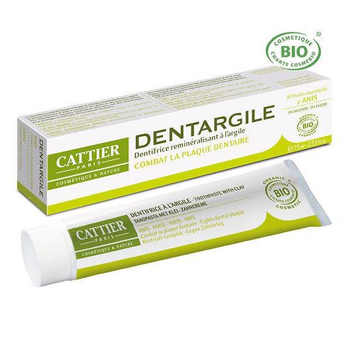 CATTIER - Реминерализираща паста за зъби с морска сол и глина