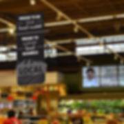 Alfalfa's In-store Signage Design