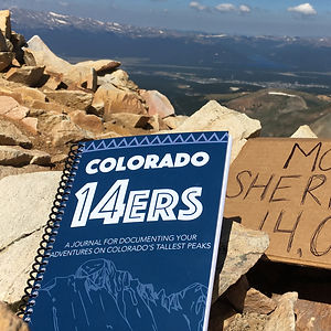 Colorado 14er Hiking Journal