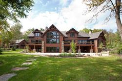Wisconsin lake home - backyard