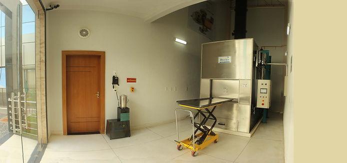 Crematório para Anamias
