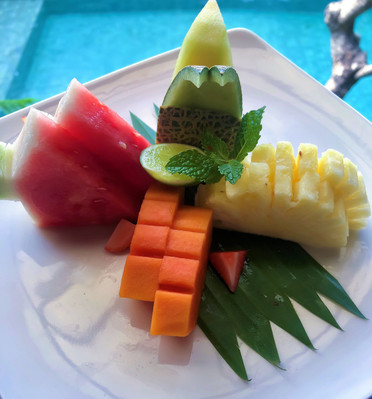 Daily Fruit Art!
