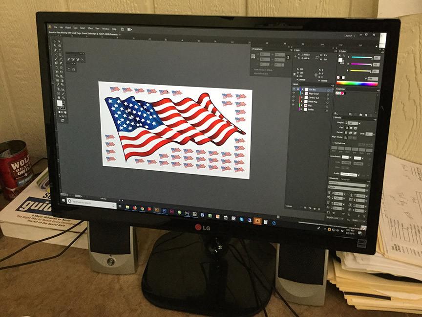 Flag-Application