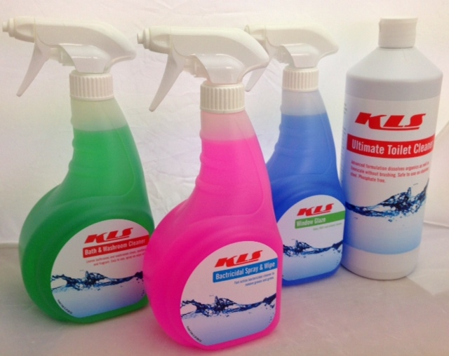 Full range of Cleaning Chemicals