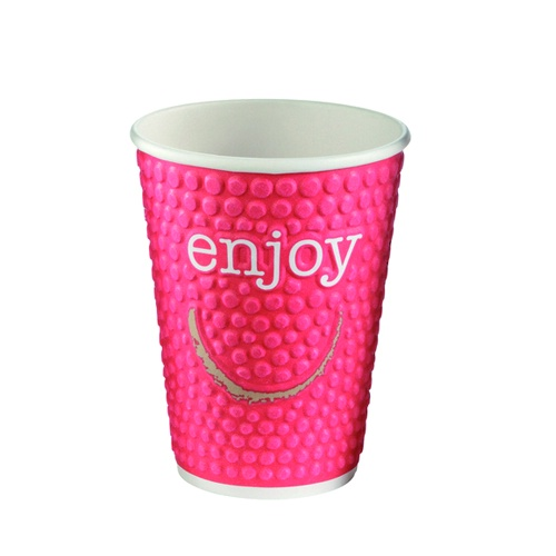 Enjoy double wall hot cup